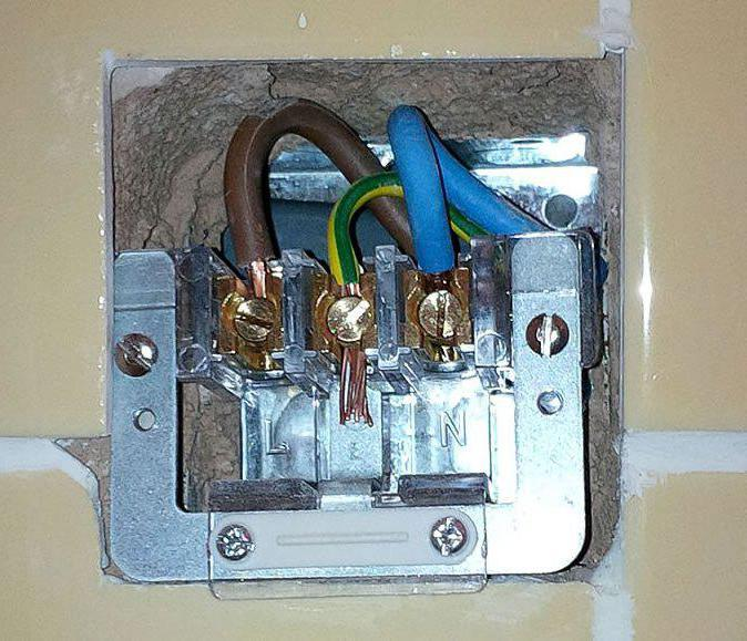 The electric furnace is three-phase. Power outlet for electric stove ...