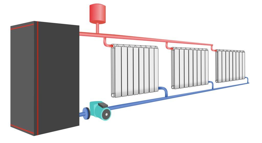 Как сделать простое отопление в частном доме 900