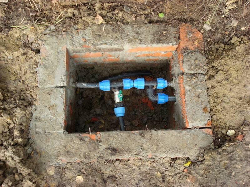 Водопровод на даче своими руками из колодца : простая схема водоснабжения