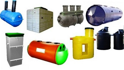 Comparison of septic tanks, topaz, tart, newt, enilos, dx, asstra