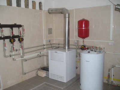 Where can I install a gas boiler. Gas equipment for home, how to ...