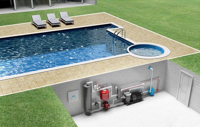 Как слить с бассейна воду. Сливаем воду из бассейна