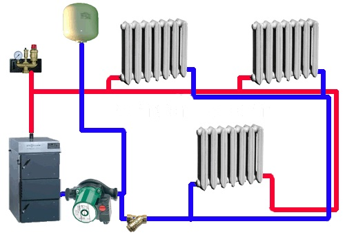 Водяное отопление дома своими руками 17