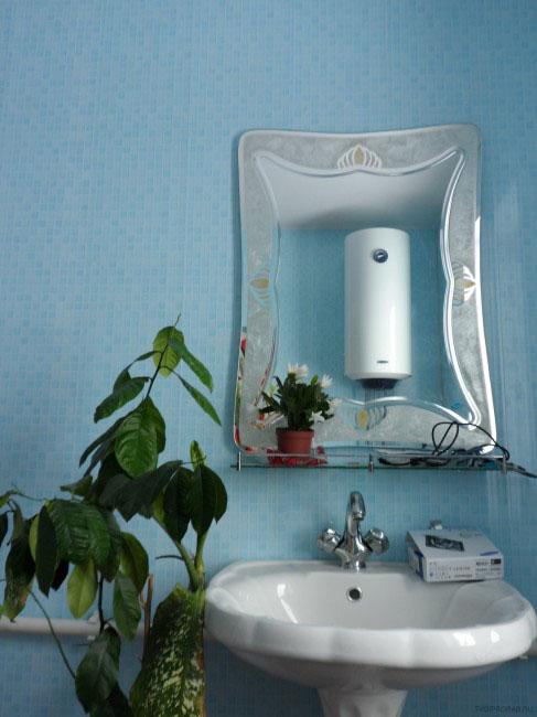 Perbaikan di kamar mandi rumah pribadi dengan tangan mereka