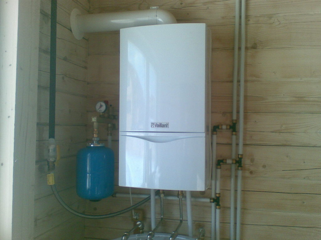 Development of a private house heating system. Selection of the ...
