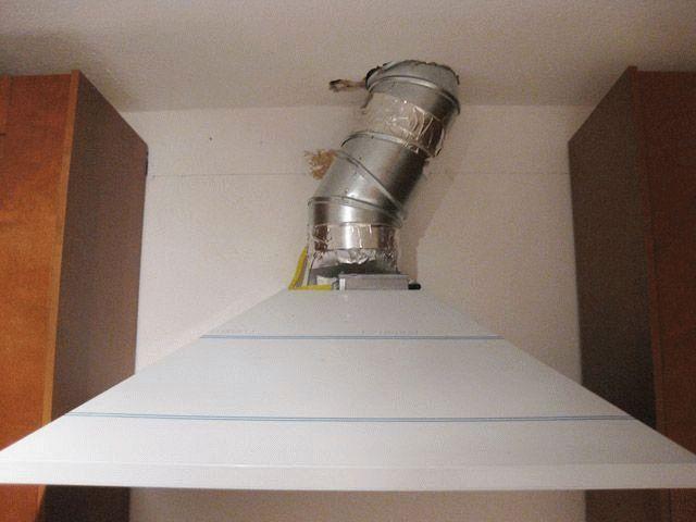 Вытяжки кухонные установка своими руками 40