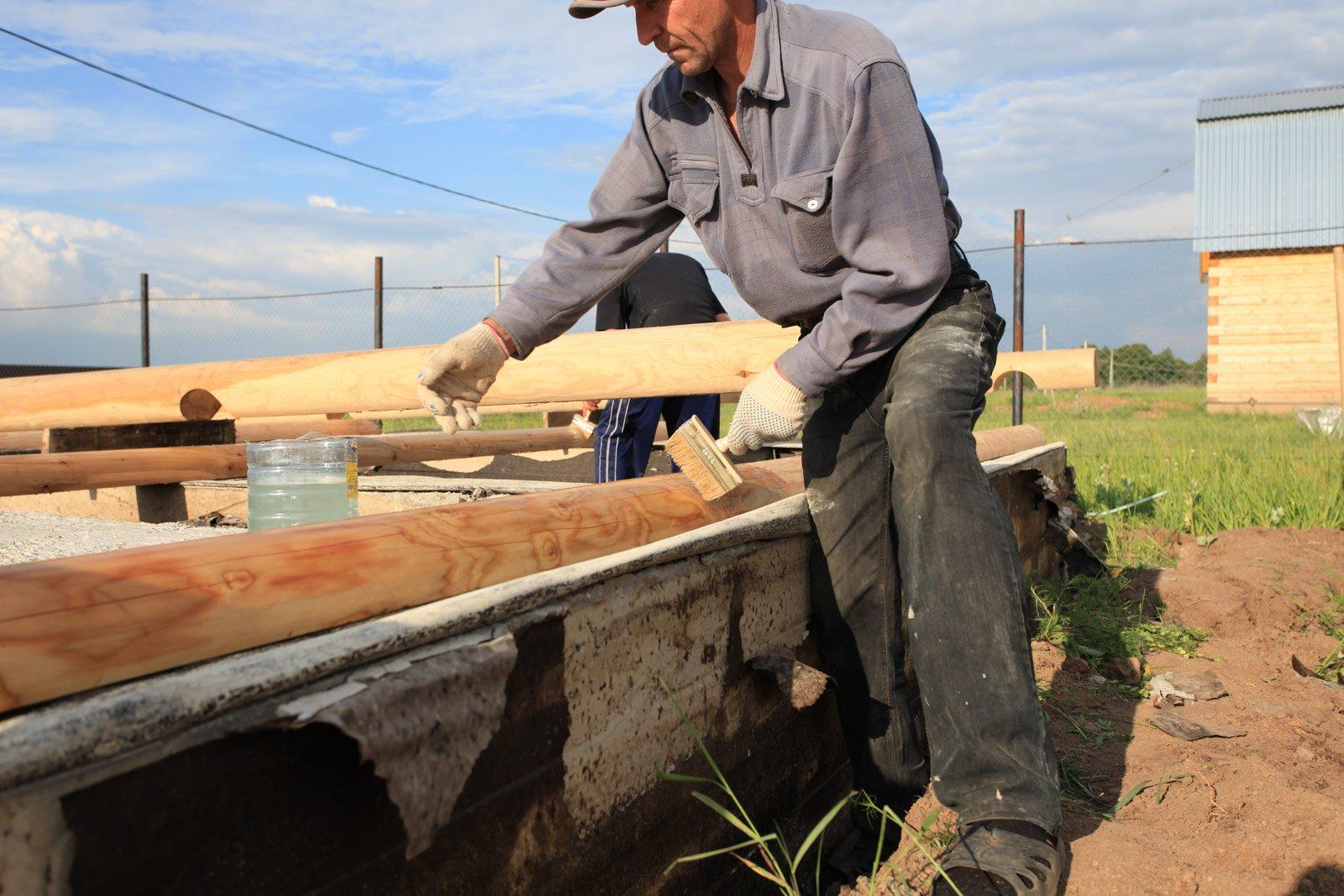 Защита древесины от гниения своими руками 4
