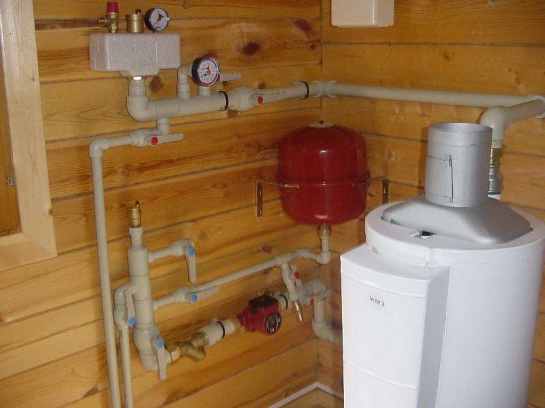 Как правильно сделать в частном доме из пропилена отопление
